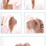 15 Вечерняя прическа для средних и длинных волос — объемная коса