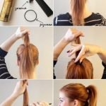 173 Хвост с крабиком для волос