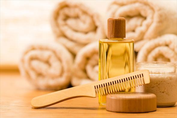 Горячее масло для волос