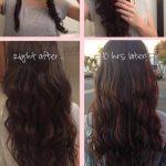 215 Кудряшки с помощью крабика для волос