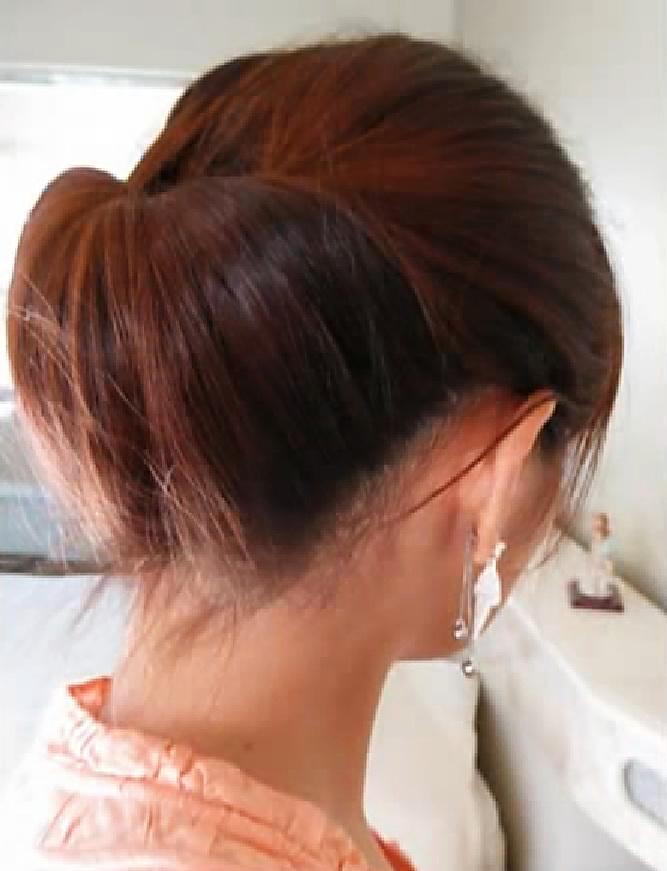 Прически за 5 минут на средние волосы