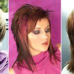 507 Стрижка каскад на средние волосы