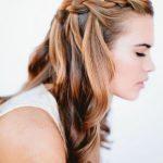 1122 Принцип плетения косы водопад самой себе