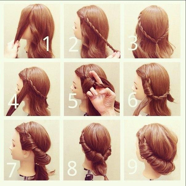 Клевые прически на длинные волосы