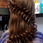1279 Схема плетения ажурной косы