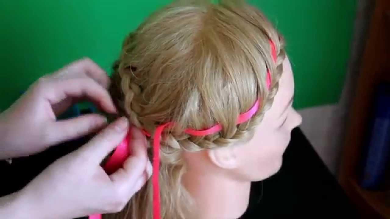 1388 Видео: Ажурное плетение с использованием ленты