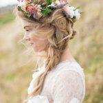 1500 Как сделать свадебный венок на голову