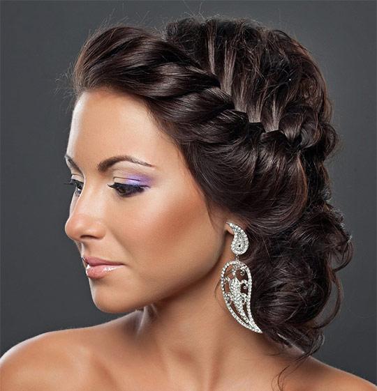 1843 Свадебная греческая коса