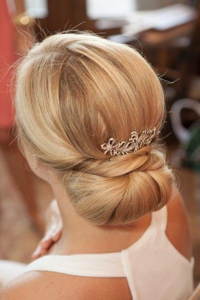 Самые популярные свадебные прически из Pinteres
