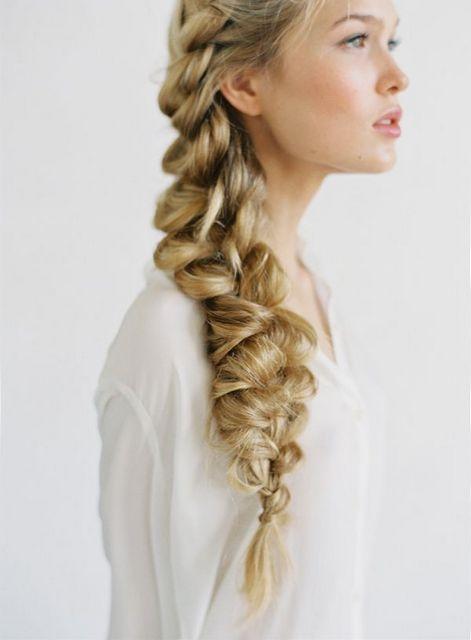 2016 Растрепанная французская коса