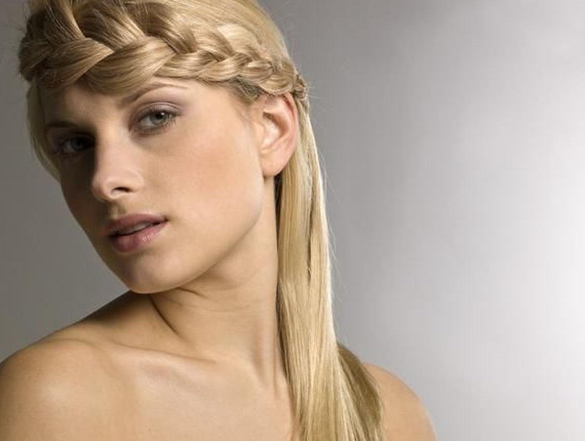 2035 Французская коса — пошаговая инструкция