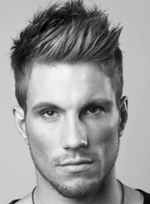 Варианты укладки мужских волос и причесок