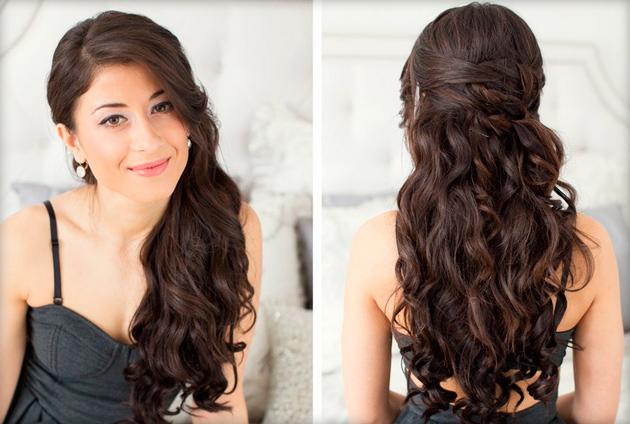 Как сделать кудри на среднюю длину волос фото 114