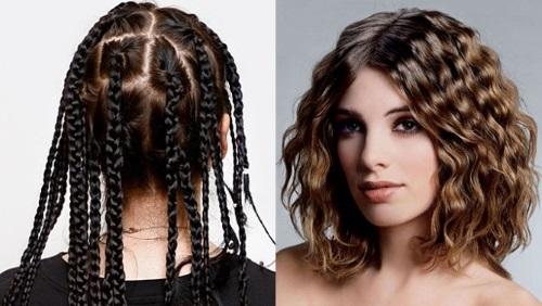 Как заплести косички на влажные волосы