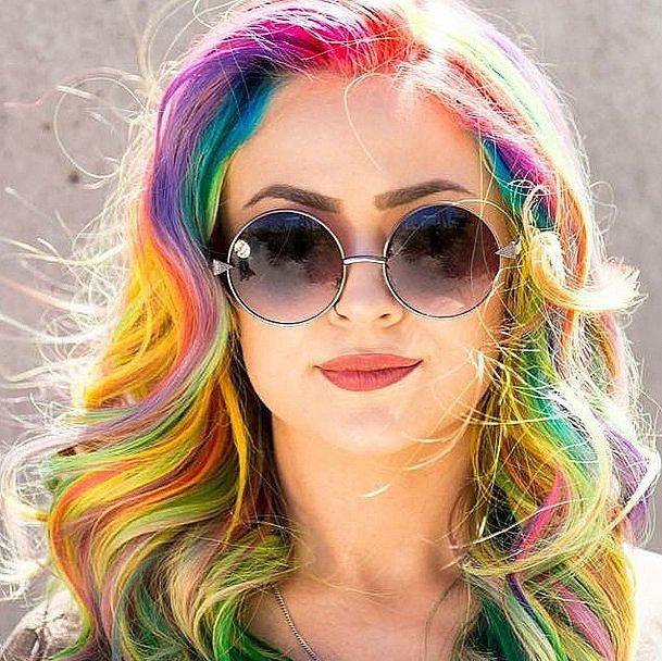 2494 Различные способы окрашивания волос