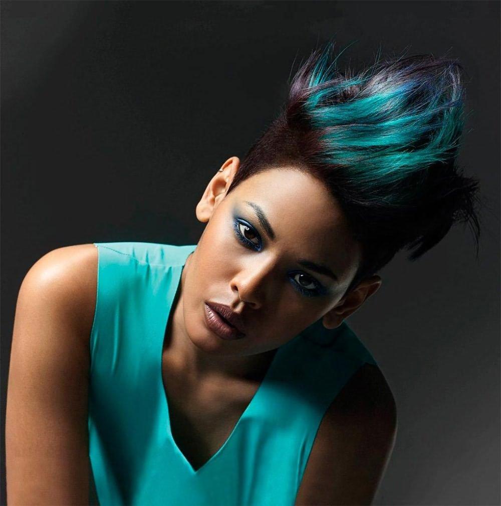 Колорирование и преображение темных волос
