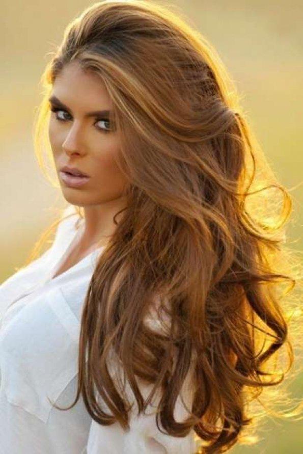 Карамельный цвет волос – сладкий тренд сезона