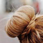 2613 Пучок с бубликом для длинных и средних волос