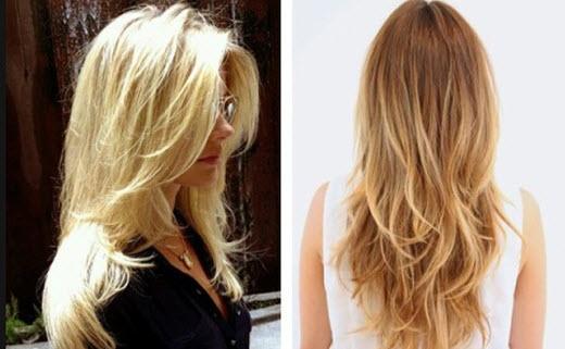 2715 Как уложить волосы слоями