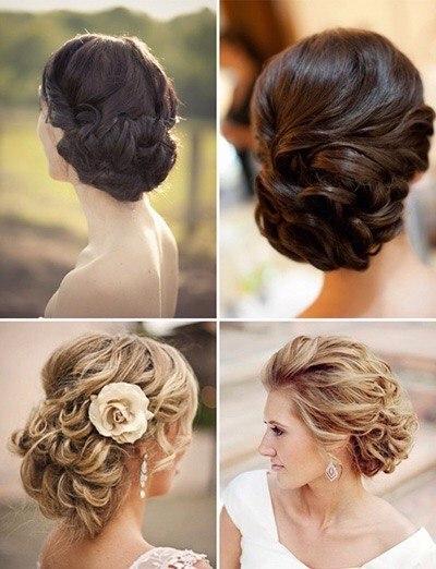 Прическа для девушки с волосами по плечи