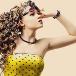 4218 Простая прическа для натуральных вьющихся волос