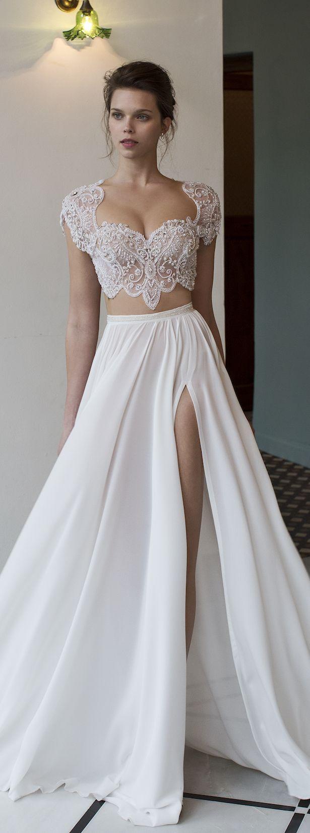 Свадебные платья топ и юбка 2017-2018