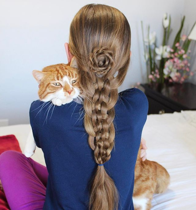 5805 Кружевная ленточка из волос