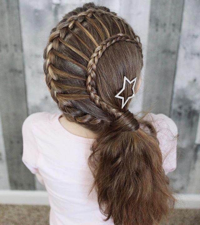 5806 Кружевная ленточка из волос