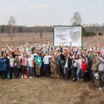 6037 На благо: Фонд Yves Rocher в рамках проекта «Озеленим планету вместе» высадил 106 400 деревьев
