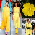 6043 Желтая примула: как носить и с чем сочетать самый яркий цвет сезона