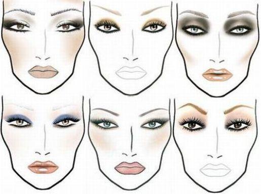 Дневной макияж для разных форм глаз