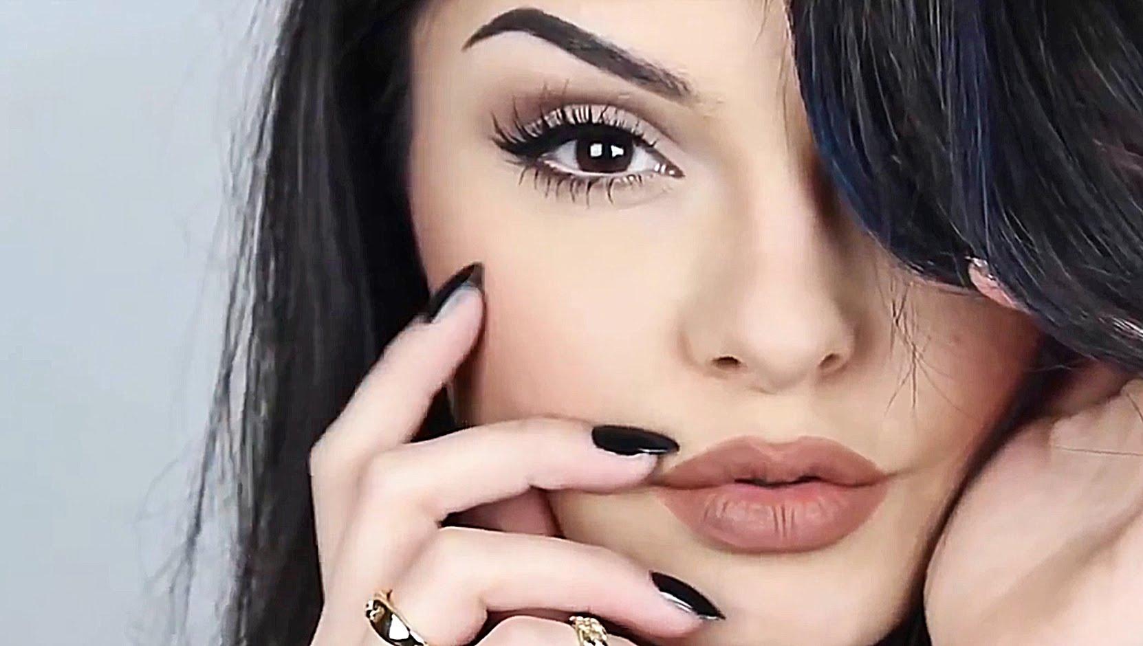 «Звездный» макияж с помощью бюджетной косметики: макияж в стиле Кайли Дженнер