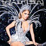 6381 Шик и блеск: Дженнифер Лопес снялась в сексуальных нарядах для журнала Paper