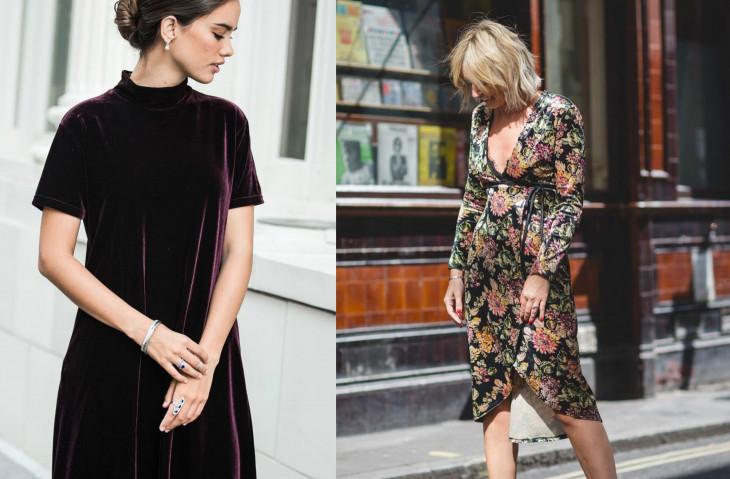 Velvet trend: как и с чем носить бархат осенью 2017