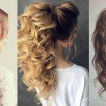 6877 Модные прически: как носить хвост на вьющиеся волосы