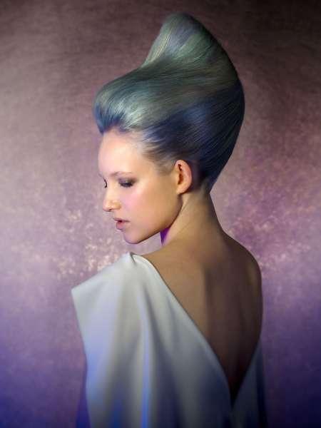 6987 Какая причёска сделает меня яркой ? Креатив года .......