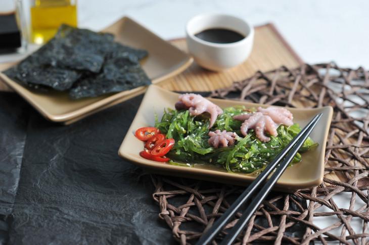 7595 Самый диетический суперфуд: полезные рецепты из морской капусты
