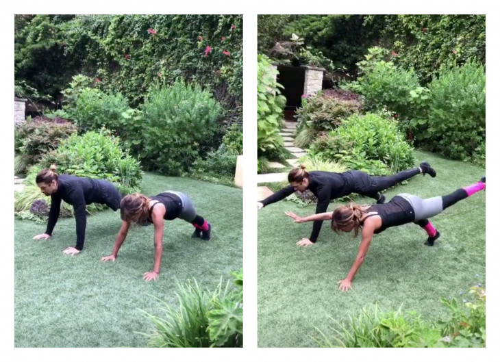 Holy Abs: тренировка Холли Берри для плоского живота