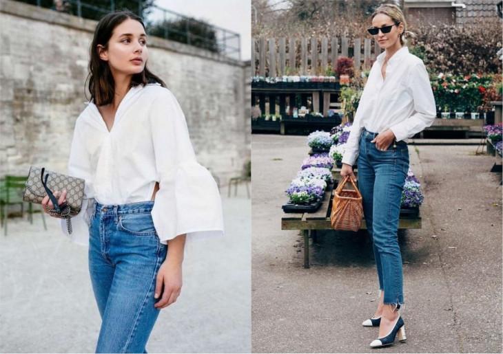 8107 Всегда в моде: как и с чем носить белую рубашку этим летом?