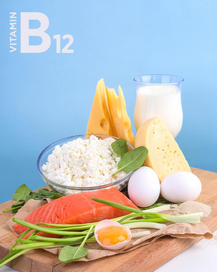 8218 Добавь в рацион: продукты питания, богатые витамином В12