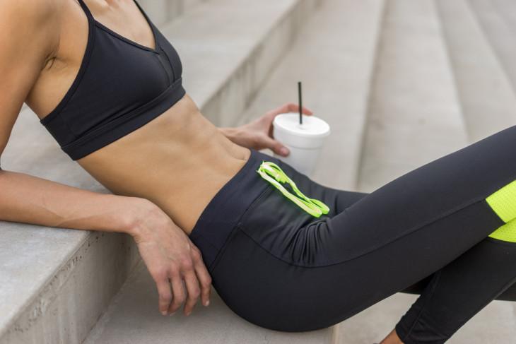 8216 Как получить плоский живот без диет и жестких тренировок