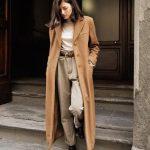 8583 Длинное пальто на осень: как выбрать и с чем носить?