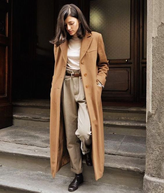 Длинное пальто на осень: как выбрать и с чем носить?