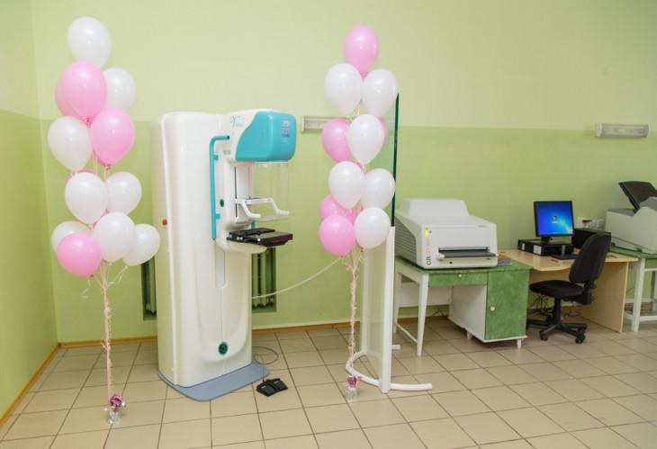 9145 Компания AVON передала Сумскому областному онкодиспансеру современный маммограф