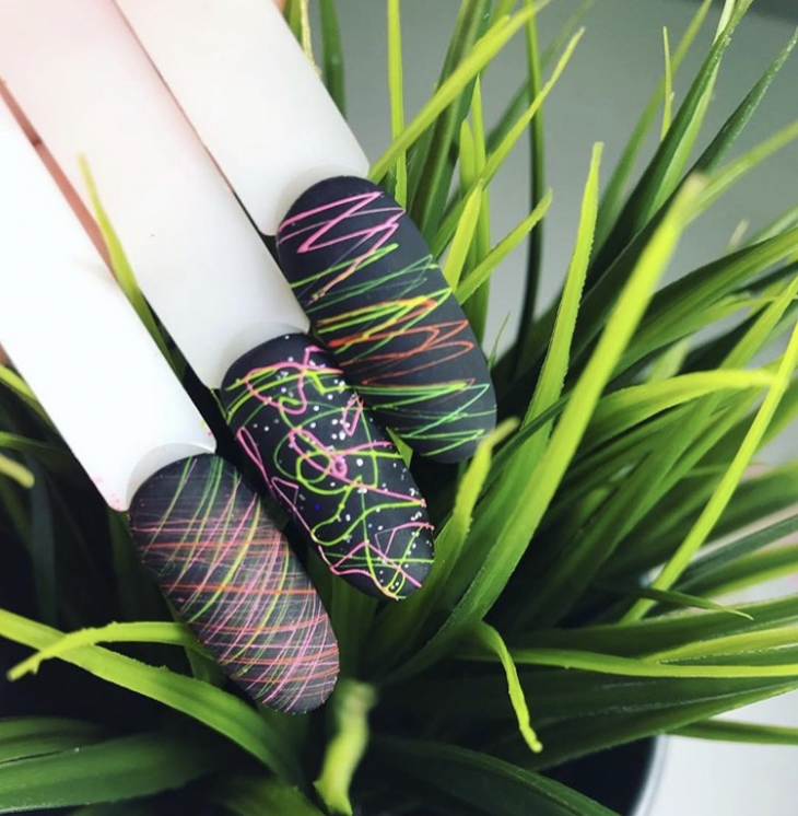 9635 Маникюрное вдохновение: идеи модного дизайна паутинка