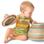 10824 Детский комбинезон с кармашком