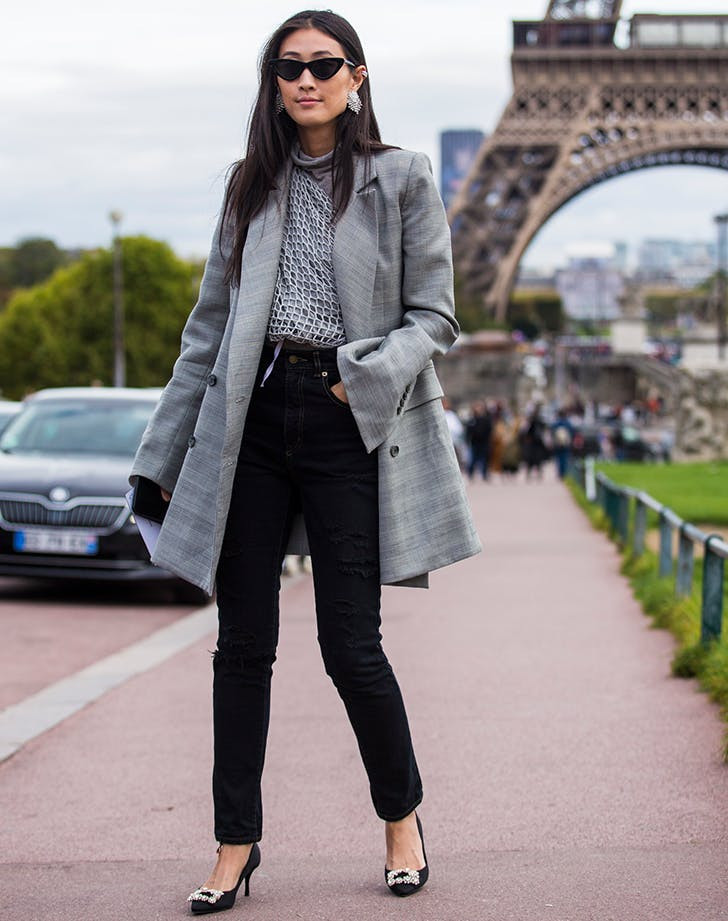 11398 Идеальный выбор на каждый день: стильные образы с черными джинсами
