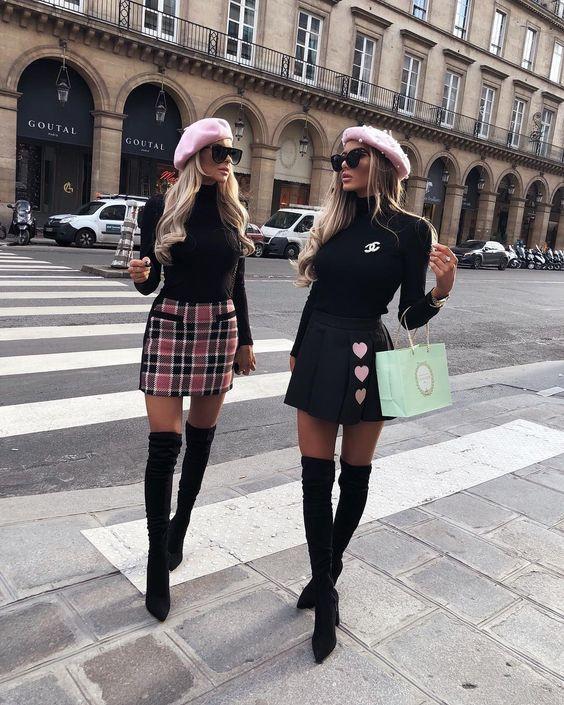 11111 Сапоги-чулки: модные способы, как носить их этой осенью
