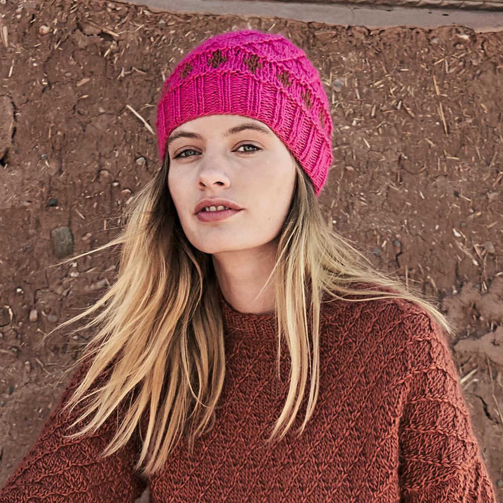 11509 Розовая шапка