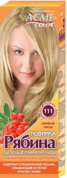 Краска для волос Экми колор «Рябина». Палитра+NEW Безамиачная краска